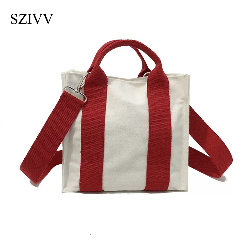 Canvas Handbag Mini Single Shoulder Bag Crossbody Messenger Bags Bucket Bag Bag