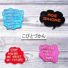 English Character Pins