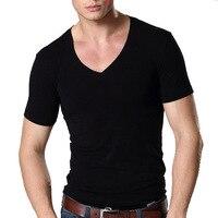 Новая Мужская хлопковая футболка с коротким рукавом нижнее белье для мужчин s 16002