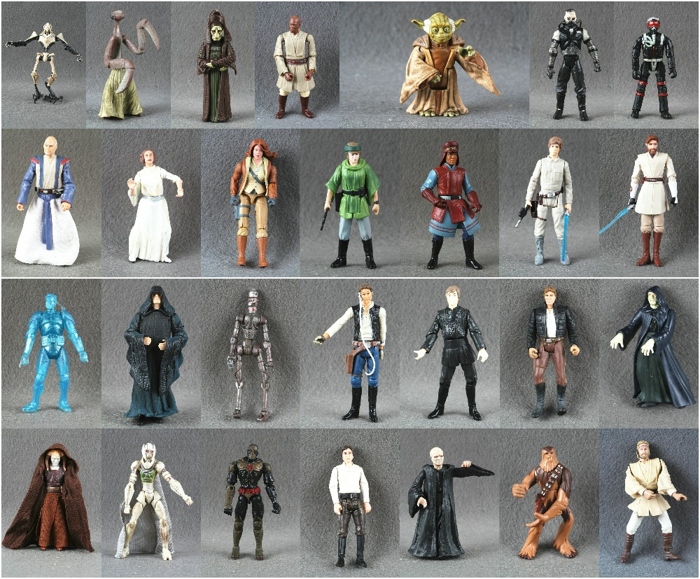 1pcs Star Wars 3.75 Inches action figure