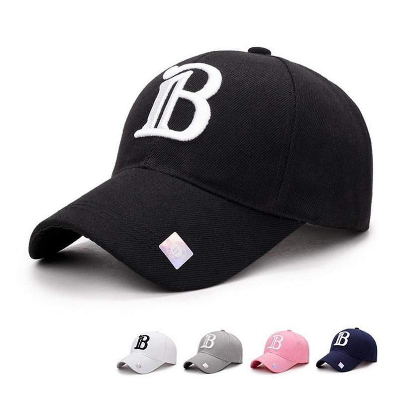 2018 New Black Adult Unisex Casual   Baseball     Caps   Fashion Snapback Hats For Men Women Black Sport Gorras