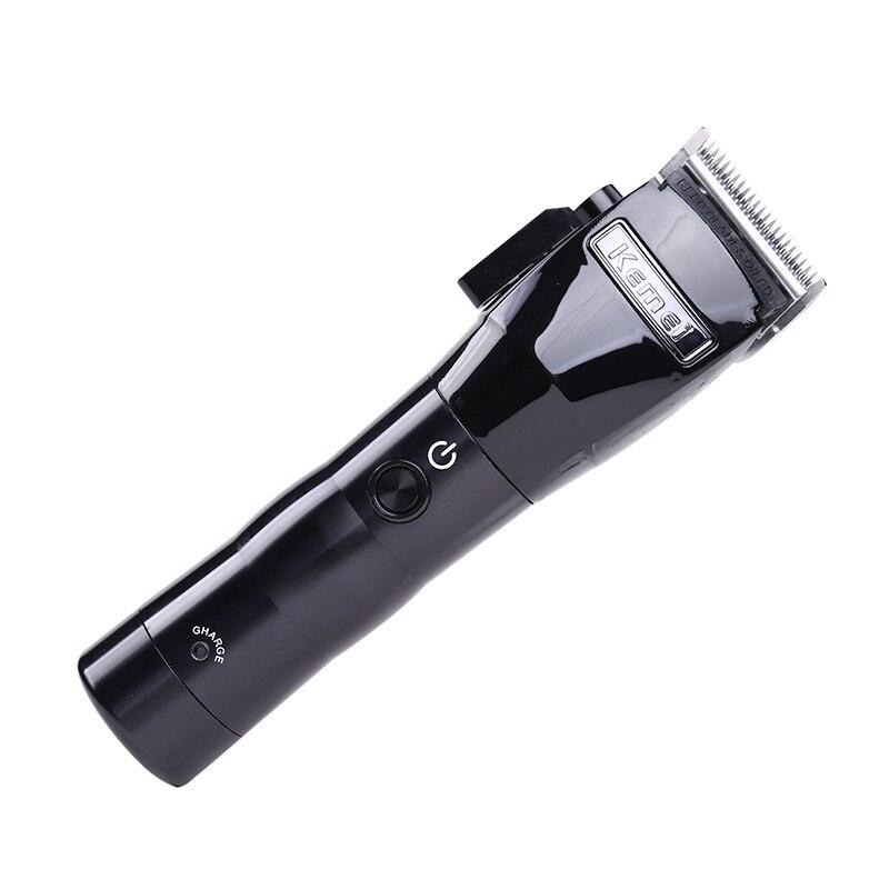 Professionnel barbier coupe de cheveux rasoir tondeuse électrique sans fil coupe-cheveux Machine tondeuse nouveaux outils de style - 3