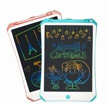 Милые обучающие игрушки для рисования 11 дюймов ЖК-планшет для письма многоцветная доска для рисования портативные электронные блокноты для рукописного ввода