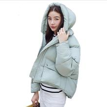 Padded Parkas Winter Fashion Women Jackets Short Design Cotton Padded Coats Female Causual Warm Hoodies Loose
