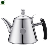 1 litre Teapot WATER KETTLE Water Pot with Filter Stainless Steel Tea kettle restaurant / household use Induction Kettle Mini