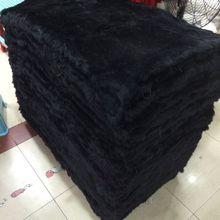Окрашенная пластина из натурального кроличьего меха 50 см* 110 см шт