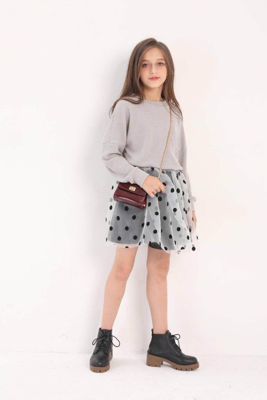 casuais crianças moda traje crianças vestido de