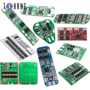 BMS 3S 4A 8A Li-ion Lithium 18650 Battery protection circuit BMS Packs PCB Board Balance Integrated Circuits Electronic Module