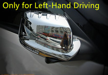 Chrome Rearview Side Mirror Cover Trims for Ford Explorer 2011 2012 2013 2014(Only for Left-hand Driving)