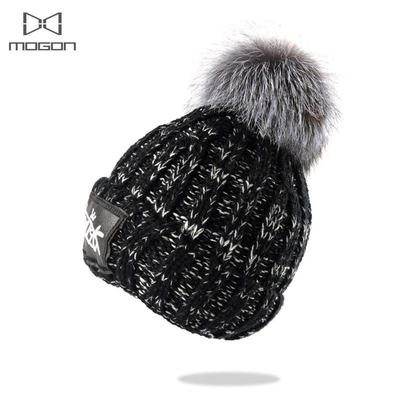 2017 Special Offer Mink And Fox Ball Cap Pom Poms Winter Hat For Women Girl 's Wool Hatknitted Beanies Brand New Thick Female индийские сказки золотая антилопа о четырех глухих cdmp3