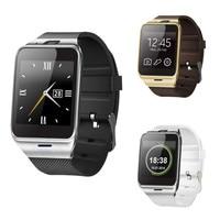 GV18 블루투스 스마트 시계 전화 GSM NFC 카메라 방수 손목 삼성 안드로이드 및 iOS 아이폰 및 안드로이드 태블릿 PC 도매