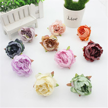2PCS silk / simulation peony bouquet wedding table accessories home decoration