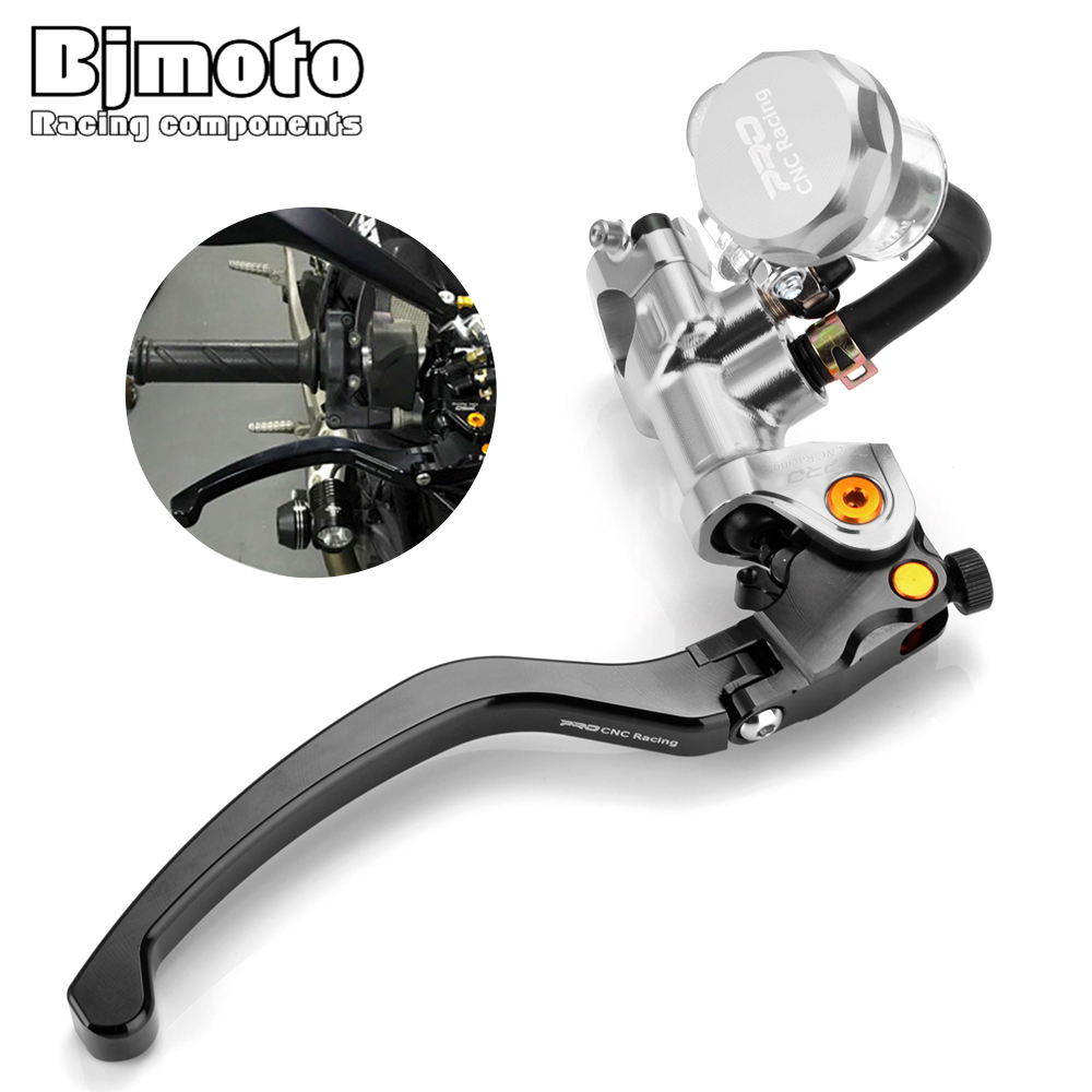 BJMOTO Moto Scooter Front Brake Pump Lever for 400c c to 1000 c c Sport Street