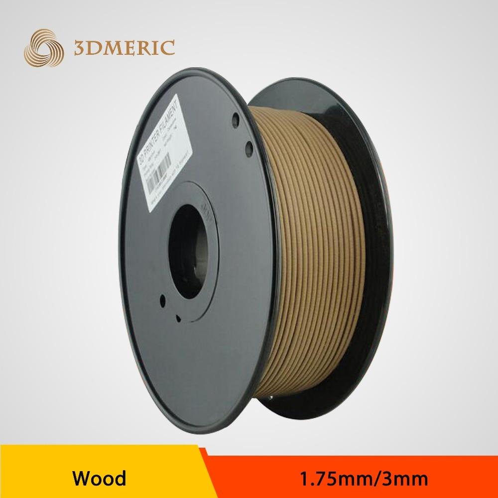ФОТО Professional Wood PLA Hybrid 3d printer filament