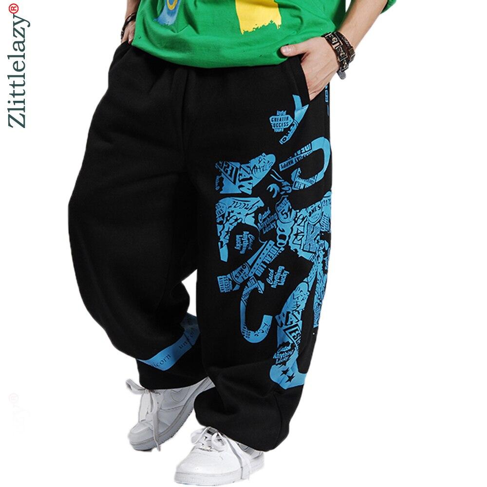 2018 Fashion Mens Joggers Printed Designer male Baggy Hip Hop Jogger Pants open air Sweatpants Men Trousers Pantalon Homme B85