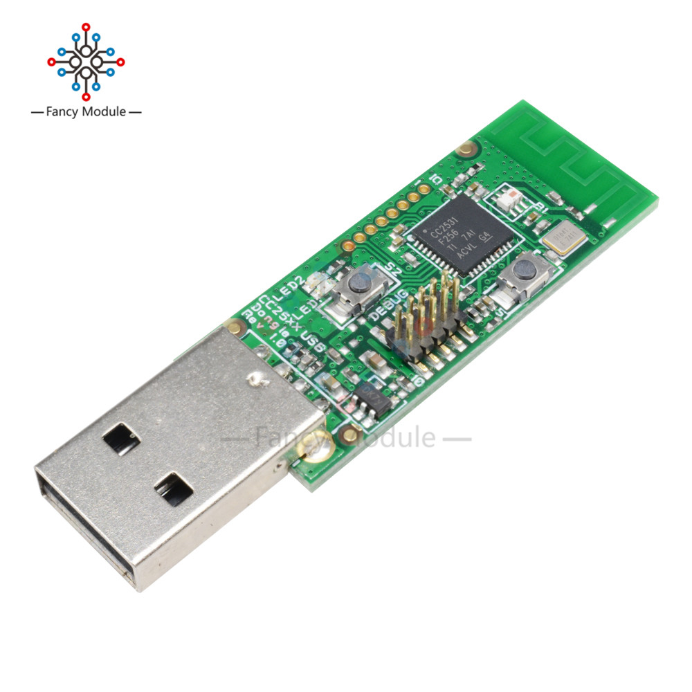 Drahtlose Zigbee CC2531 Sniffer-software-protokoll-analyse Bare Board Paket Protokoll Analyzer Modul Usb-schnittstelle Dongle Erfassen Paket