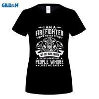 GILDAN 여름 새로운 도착 최고의 판매 T 셔츠 소방