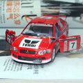 Новый Kingsmart 1/36 масштаб модели автомобиля игрушки #7 Mitsubishi Lancer Diecast Металл Вытяните Назад Гоночный Автомобиль Игрушка Для подарок/Дети