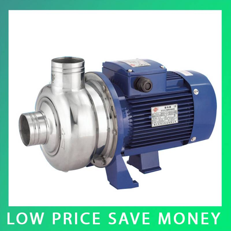 High Pressure Water Pump 0.75KW Three Phase High rise Building Water Supply Horizontal Centrifugal Water Pump