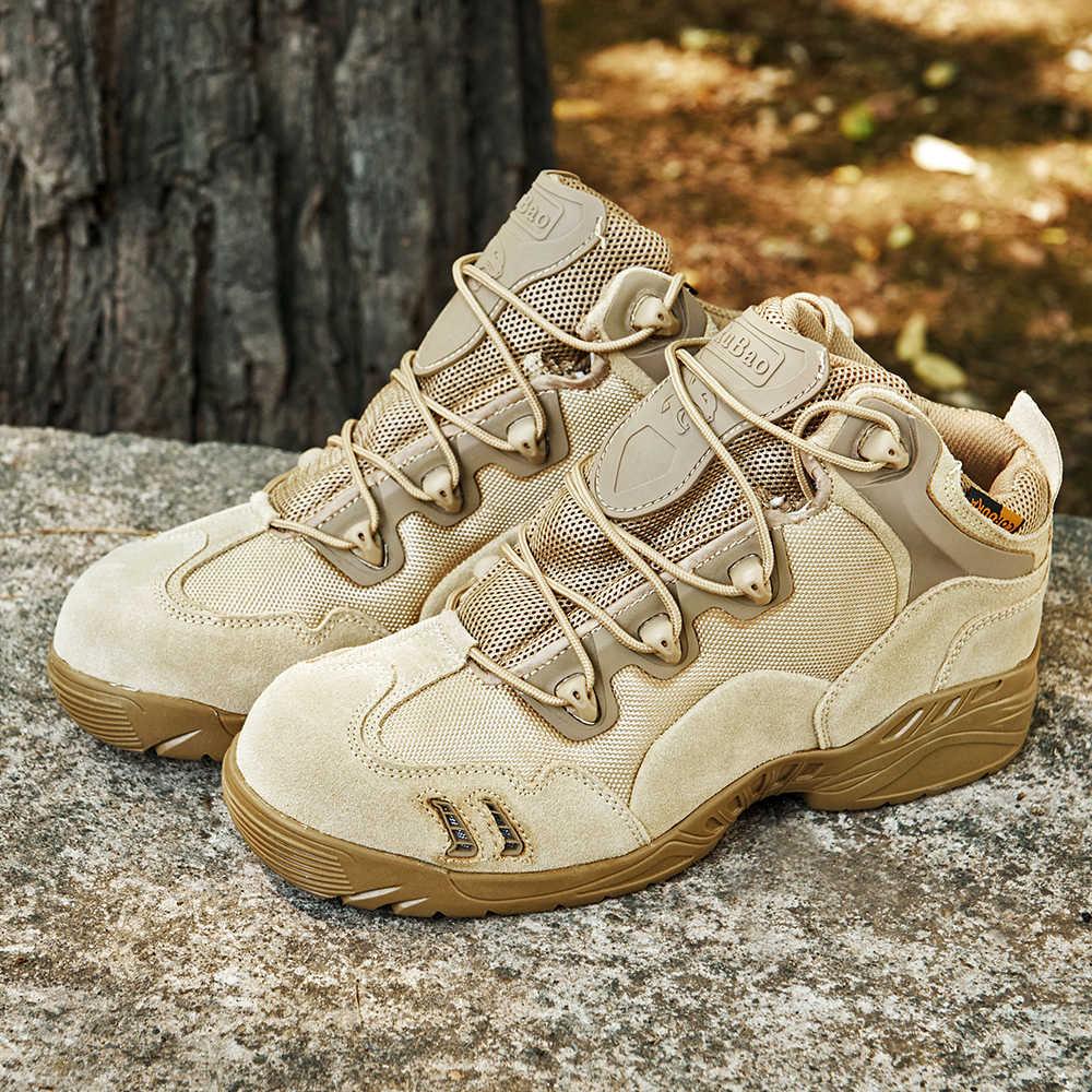Новый воздушный сетчатый дышащий мужской военный десант тактические ботинки мужская обувь кроссовки для женщин Нескользящая рабочая одежда альпинистская обувь