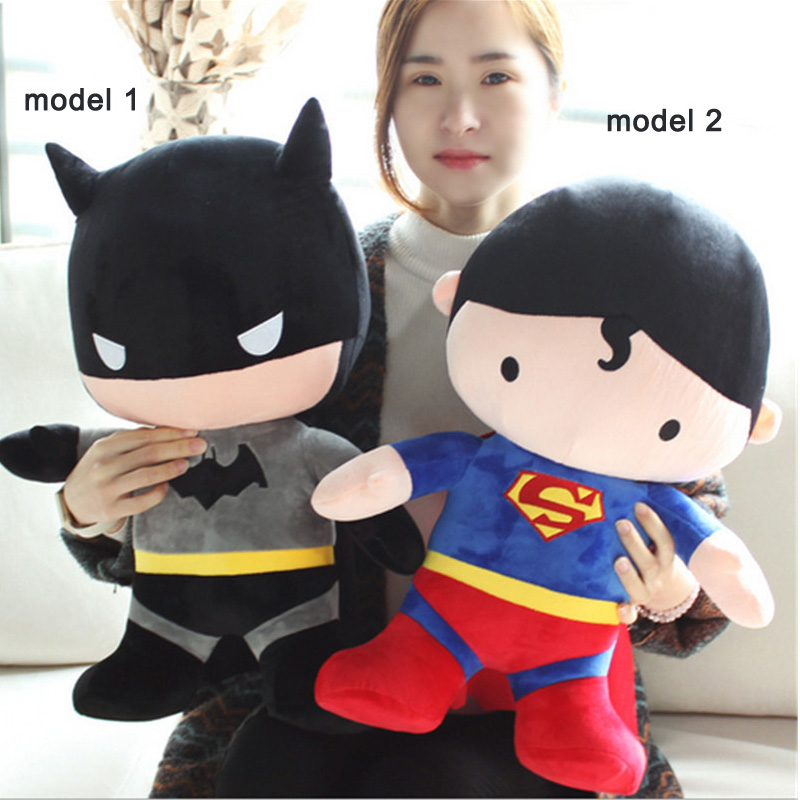 Fancytrader JUMBO 39'' / 100CM Giant Stuffed Vivid Soft Plush Batman Toy, Great Gift For Kids, Free Shipping FT50291 fancytrader 32 82cm soft lovely jumbo giant plush stuffed anpanman toy great gift for kids free shipping ft50630 page 7