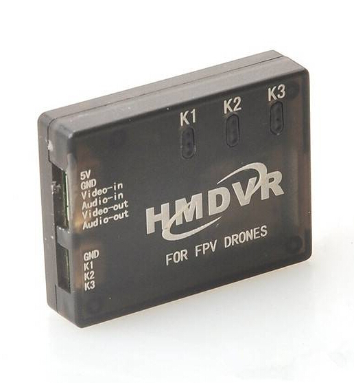 ФОТО HMDVR Mini DVR Recorder Video Audio Recorder for FPV Drones QAV Multicopters Free Shipping