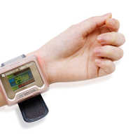 Healthcare 650nm laser light/wrist Diode low level laser Physiotherapy therapy LLLT For diabetes hypertension Rhinitis treatment