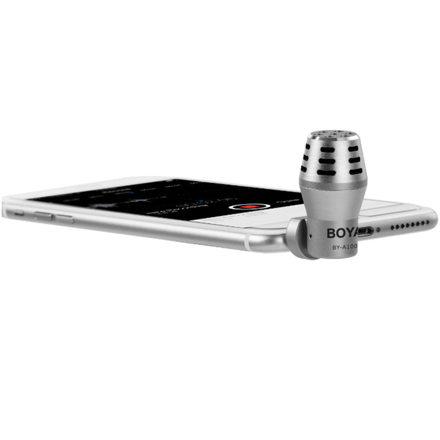 2016 sale BOYA BY-A100 Omnidirectional Condenser Microphone fr phone smart phone