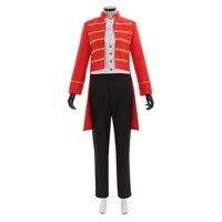Косплэй сделай сам The Greatest Showman Phillip Carlyle костюм для костюмированной игры для взрослых нарядное Для женщин мужские униформеный костюм L320