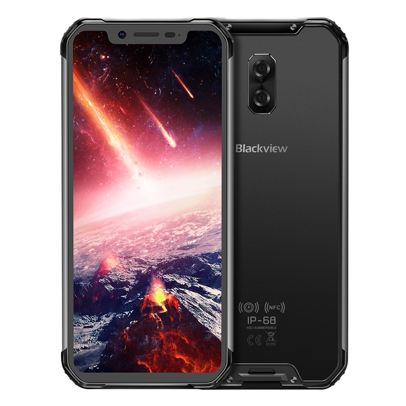 "Image 2 - Blackview BV9600 Pro IP68 Waterproof 6GB+128GB Mobile Phone 6.21"" Octa Core Android8.1 Wireless Charging NFC Dual SIM Smartphone-in Cellphones from Cellphones & Telecommunications"