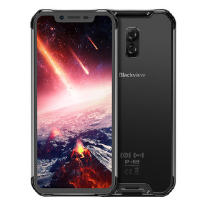 """Image 2 - Blackview BV9600 Pro IP68 Waterproof 6GB+128GB Mobile Phone 6.21"""" Octa Core Android8.1 Wireless Charging NFC Dual SIM Smartphone"""