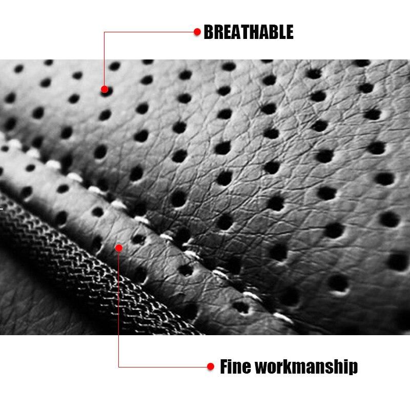 Cubierta de asiento de cuero para Toyota RAV4 PRADO Highlander - Accesorios de interior de coche - foto 3