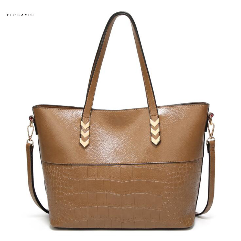 Leather Handbags Big Women Bag High Quality Casual Female Bags Trunk Tote bags for women Shoulder Bag Ladies Large Bolsos new women leather handbags shoulder bag women s casual tote bag female patchwork handbags high quality main ladies hand bags