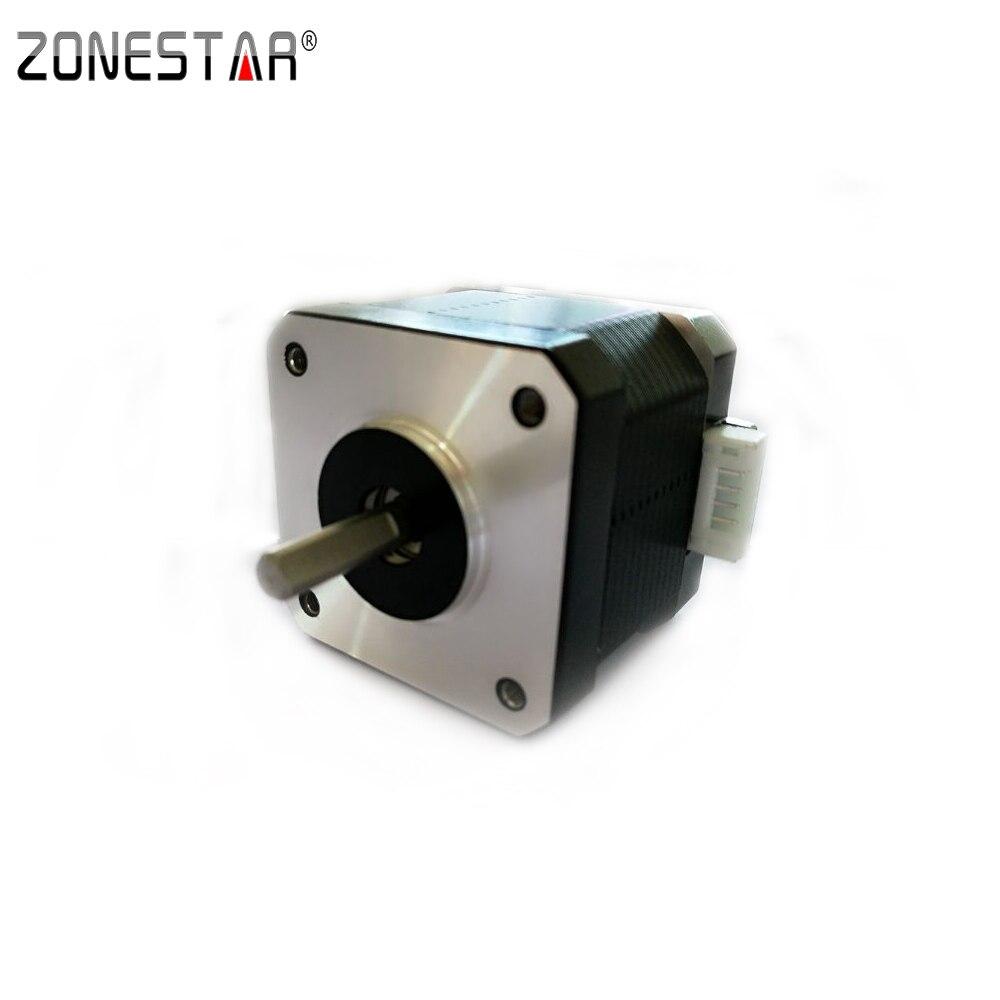 Zonestar nema17 step motor sl42sth40 1684ma 23 sl42sth40 1684ma 16 torque 4000g cm current 1 7a