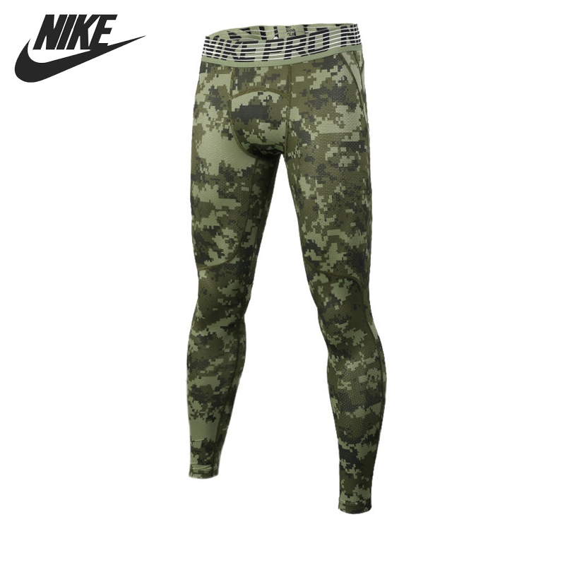 Original New Arrival 2017 NIKE HPRCL TGHT DIGI CAMO Men's Tight Pants Sportswear nike nike tech tight pants