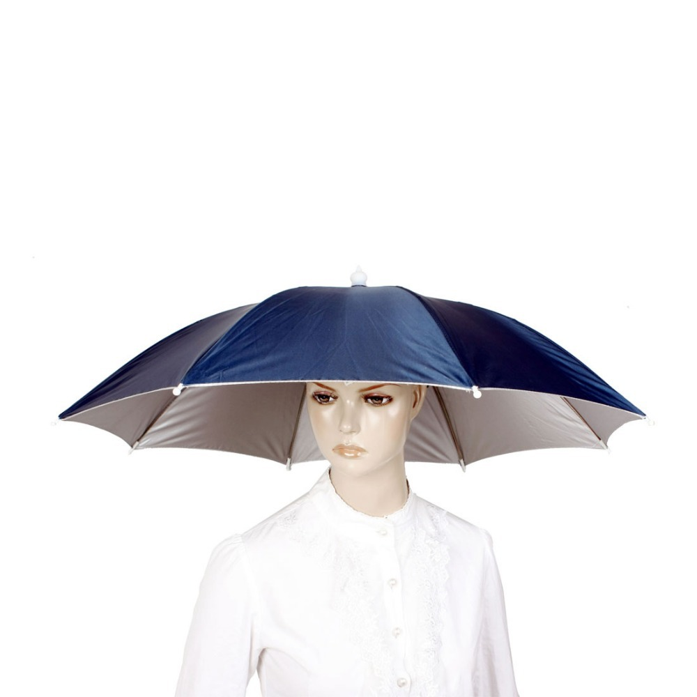 في كبيرة التمويه الدراجات الصيد التنزه شاطئ التخييم رئيس مظلة النساء الرجال الاطفال 8 الصلب ضلع الشمس المطر المظلات قبعة كاب