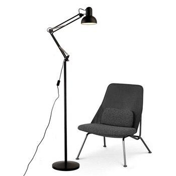 Jiawen LED Moderne einfache boden lampen einstellbare arm metall designer  boden lampe für wohnzimmer AC 85-265 v
