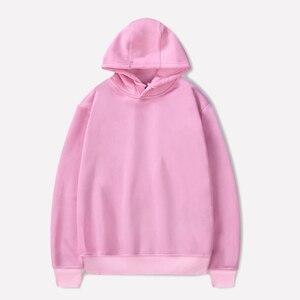 Image 5 - Autunno donne degli uomini sportwear Felpe grande vendita Felpe in pile con cappuccio felpa con cappuccio di grandi dimensioni 8XL cotone sciolto oversize cappotto rosa blu