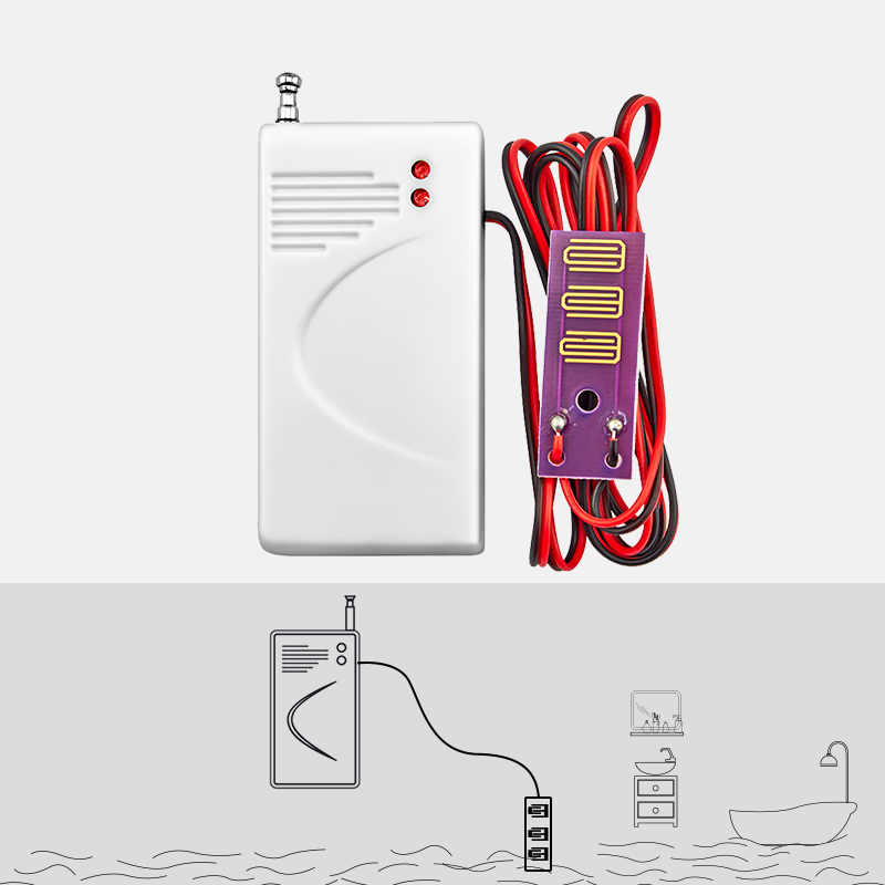 433mhz Wireless Water Leak Detector Intrusion Detector for GSM Home Security Alarm System Flood Water leakage Sensor water leak detector 433mhz wireless intrusion work with gsm pstn sms home house security for alarm system water leak sensor