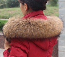 Réel Écharpe De Fourrure Col De Fourrure Femmes Manteau D hiver Écharpes De  Fourrure De Luxe Fourrure De Raton Laveur D hiver de. 679b9acc3d5