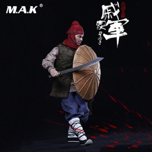 For Collection 1/6 Collectible Full Set KLG012 The Ming Dynasty Series Qi Jiajun Action Figure  Double Heads Shield Weapon Model