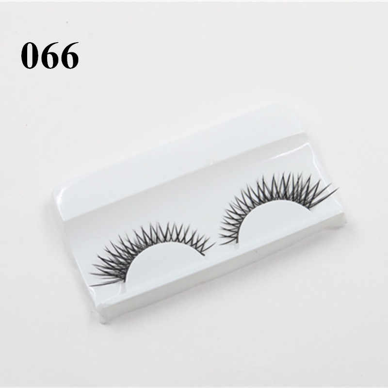 6d8d3553e1c ... 3D Mink Strip Lashes Wispie False Eyelashes Cheap Volume Eyelash  Extensions Natural Sex Eye Makeup Extension
