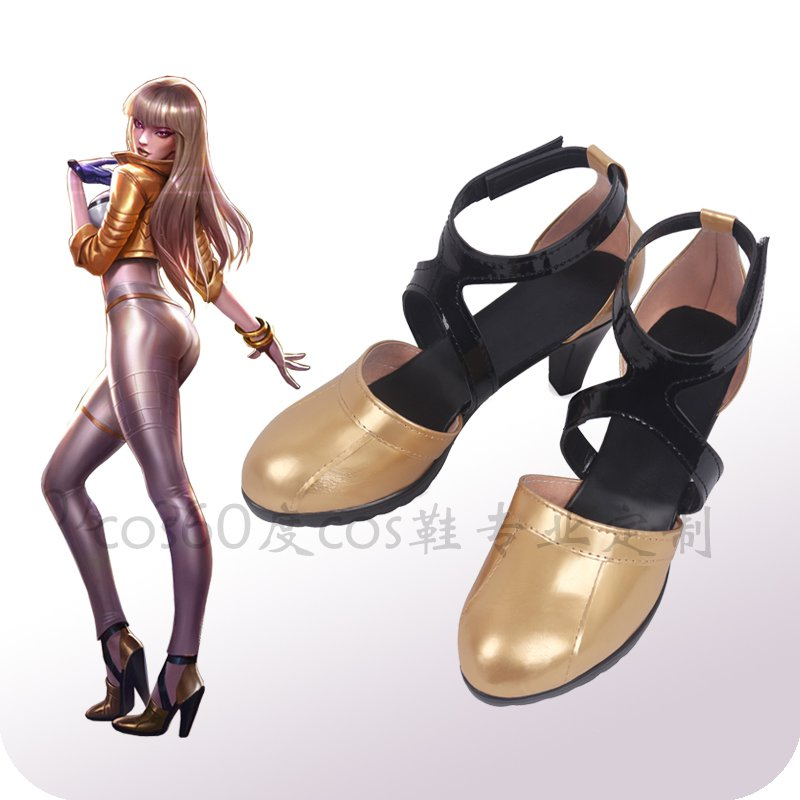 Game LOL KDA KAISA Cosplay Shoes Women Shoes K/DA KAISA