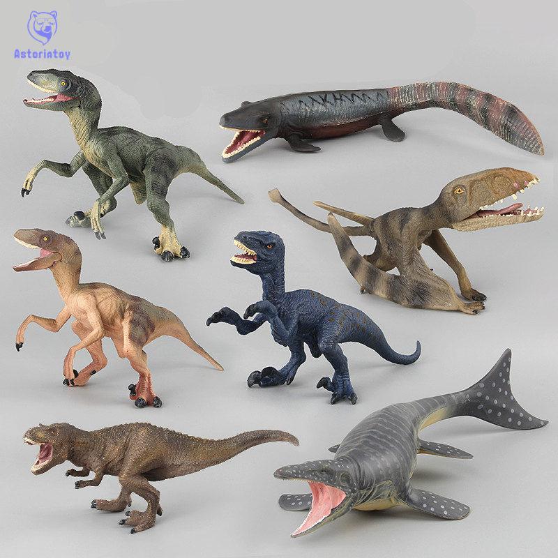 Jurassic World 2 Simulation Dinosaur Animal Model Toy Dinosaur Raptor Dragon Dragon Sea King Dragon Figurine Decoration figurine