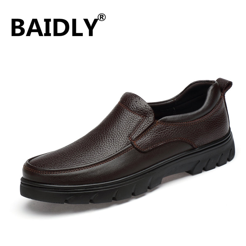 Casual Men Genuine Leather Shoes Summer Breathable Men s Loafers Leather Shoes Sapato Masculino Zapatos Hombre