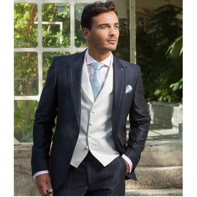 Hot Sale Groom Tuxedo For Men Wedding Best Man Suit Men Formal Business Suits
