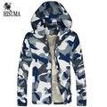 2016 Primavera e No Outono Magro dos homens novos jaquetas de camuflagem dos homens tendência jaqueta masculina roupas M-XXXL