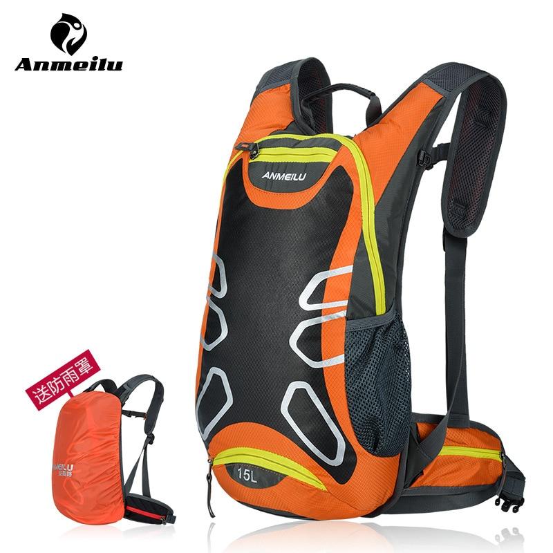 ANMEILU 25L Non-slip breathable Bicycle Backpacks Waterproof MTB Road Mountain Bike Water Bags Climbing Cycling Basket Backpacks