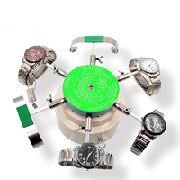 220V Automic Test Cyclotest 6 Arms Watch Winder test Mechanical watches Repair Tool for Watchmakers