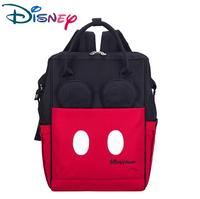 Disney Fashion Mummy Backpack Large Capacity Travel Maternity Bag Diaper Baby Bag Multifunctional Nursing Bag Baby Care